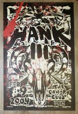 2004 Hank Williams III - Urbana Silkscreen Concert Poster by Gregg Gordon Gigart