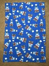 """Thomas The Train Tank Engine Throw Blanket 36""""x53"""" Double Sided Quilted Fleece"""
