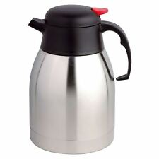 2L S/S STEEL VACUUM KETTLE FLASK HOT COLD TEA COFFEE INSULATED DISPENSER AIR POT
