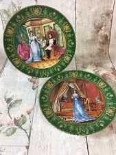 Limoges Collectors Plates Josephine & Napoleon c1985 Bradex Limited Edition