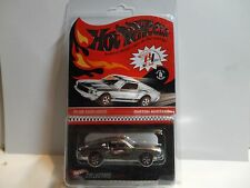 Hot Wheels Red Line Club Chrome Custom Mustang Red Stripes