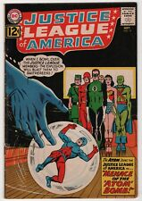 Justice League of America #14 solid 1962 DC Atom joins create-a-lot & save