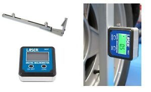 Gunson 77137 Trakrite Camber Bar Tool AND Digital Inclinomter Tool * ideal DIY