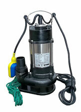 IBO Heavy Duty WQF 550W Submersible Sewage Dirty Water Septic Pump Float Switch