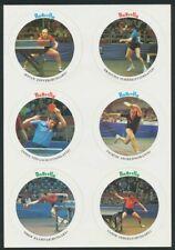 Butterfly Table Tennis Coaster Stickers (6) : Jonyer, Surbek, Klampar, Stipancic