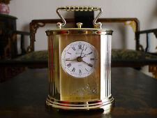 orologio dorato da tavolo Bulova table watch clock Tischuhr Uhr made in Germany