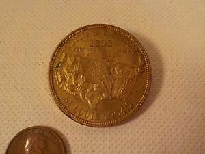 "Original 1904-vintage (Bronze) ""Louisiana Purchase COMMEMORATIVE"" COIN!"