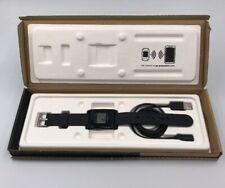 Pebble 1 Kickstarter Edition Smart Watch Black - Original Box - Works