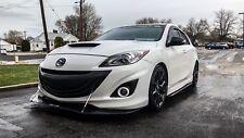 Gen 2 Mazdaspeed 3 Front Lip Splitter (APR Support Rods Not Included) Easy