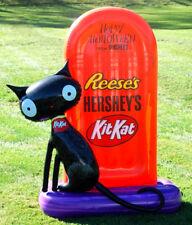 2016 Hershey's Tombstone w/Black Cat Halloween Inflatable