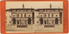 Florence Firenze Italie Italia Photo Stereo Vintage Albumine ca 1875