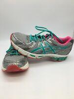 ASICS GEL DUOMAX Women's Athletic Running Shoes Aqua/Pink T379N Size 9.5
