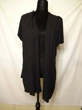 CATO LIGHT WEIGHT SUMME OPEN FRONT CARDIGAN SHORT SLEEVE WOMENS XL 16/18