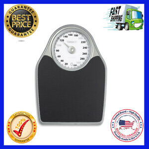 Thinner Extra-Large Dial Analog Precision Bathroom Scale, Analog Bath Scale