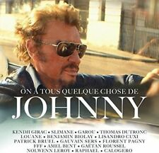 CD de musique rock français digipack Johnny Hallyday