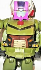 TRANSFORMERS Animated HEADMASTER BULKHEAD leader class 2008 100% COMPLETE hound