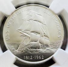 1962 SILVER 1812 U.S.S CONSTITUTION SHIP COMMEM HERALDIC ARTS MINT STATE 69