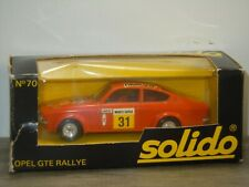 Opel Kadett GTE Rallye - Solido 70 France 1:43 in Box *40671