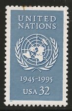 US Scott #2974, Single 1995 United Nations 32c VF MNH