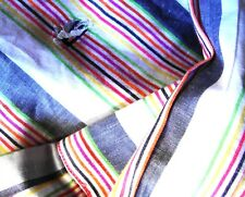 SHIRT man  cotton and line vintage ETRO Milano tg.M made in Italy rare