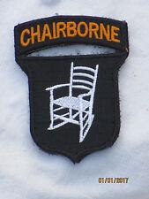 CHAIRBORNE, Funny Unit ID Morale Patch,Klett ,Abzeichen