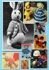 Unbranded Crochet Vintage Crocheting & Knitting Patterns