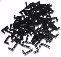 Lego Lot of 100 Black Technic Liftarms 3 x 5 L-Shape Thick Pieces Parts