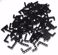 Lego Lot of 100 Black Technic Liftarms 3 x 5 L-Shape Thick Pieces Parts