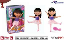 Ballet Star Dora the Explorer Doll BNIB Costume & hair brush 3+ Fisher Price
