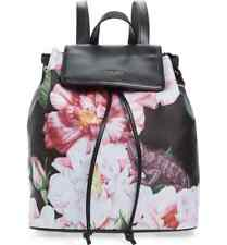 New TED BAKER LONDON Iguazu Floral Nylon Travel Backpack Rugsack Black
