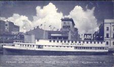 Wilmington NC Fergus Ark Ship Restaurant Old Postcard