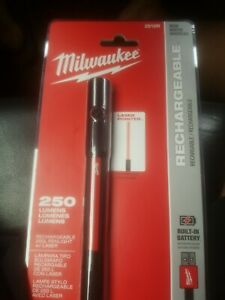 Milwaukee Rechargeable 250L Penlight w/ Laser 2010Rp