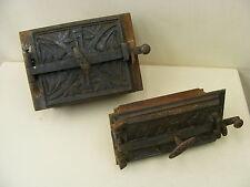 Vecchio Porta del Forno e cenere 2 pezzi per forno,forno antico con Telaio