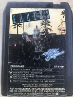 Eagles Hotel California 8 Track Audio Music Cassette Stereo Tape Cartridge 1976