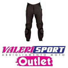 SPYKE PANT STEALTH LEATHER BLACK GREY SIZE 54/56 RACING ROAD TOURING OUTLET