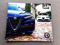 2019 Alfa Romeo 12-page Sales Brochure Catalog - 4C Spider Stelvio Giulia