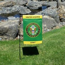 New listing Army Lustre Double Sided Licensed Garden Flag
