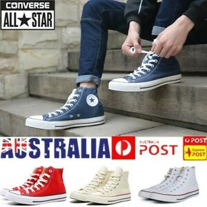 Converse All Star MENS WOMENS High Top Canvas Chuck Taylor Trainers Shoes Unisex