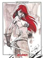 Red Sonja 45th Anniversary Dynamite   Base Card #13
