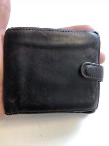 Vintage Next Gentlemans Brown Leather Bifold Wallet.