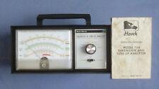 Hawk Model 764 Diagnostic & Tune Up Analyzer w/Original Operating Manual