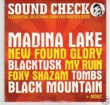 (K684) Rock Sound, Sound Check #105, 15 tracks - DJ CD