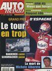 AUTO HEBDO n°1288 du 3 Mai 2001 GP ESPAGNE BMW M3 SMG 406 SILHOUETTE