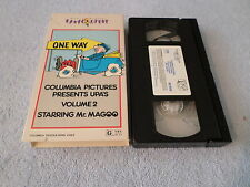 Columbia Pictures Cartoons - V. 2 - Mr. Magoo (VHS, 1994)