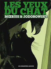 MOEBIUS JEAN GIRAUD EYES OF THE CAT RARE ARTBOOK FRENCH HARDCOVER HC Comic Art