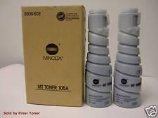 Genuine Minolta 105A Toner 2 Pack Di181, Di250, Di350