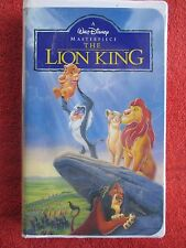 A Walt Disney Masterpiece - The Lion King (VHS, Clamshell, 1995)