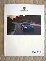 PORSCHE 911 996 CARRERA S/4S TARGA COUPE CABRIOLET PRESTIGE BROCHURE 2004 USA Ed