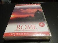 "COFFRET 2 DVD NEUF ""CITES DE DIEU : ROME / MOSCOU"" documentaires"