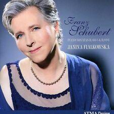 Janina Fialkowska, R. Schubert - Piano Sonatas [New CD]